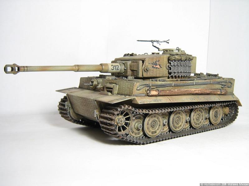 Сборная модель танка Королевский Тигр от компании Trumpeter 07291 выполнена в масштабе 1:72, представляет собой